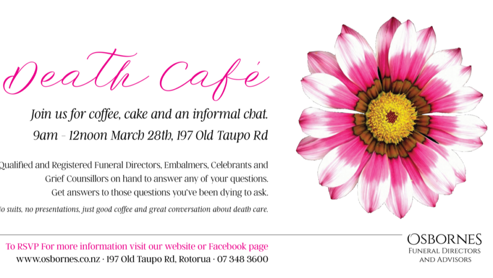 Death Cafe Rotorua - March 28th 2021